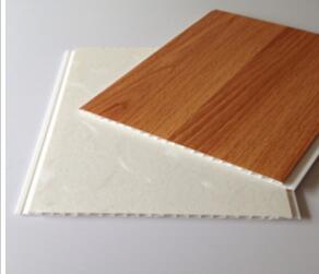 Plastic Wood Laminated Pvc Panel For Ceiling Board 2016 Latest Grain Design Wall Machine